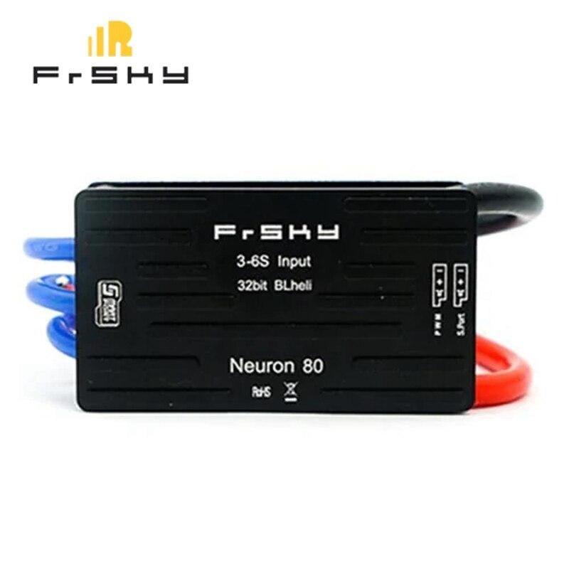 Frsky Neuron Brushless ESC 40 60 80A 32Bit 3 6S Input ESC Built in Telemetry for