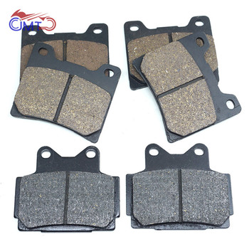 For Yamaha FZR400 FZR 400 1986 1987 1988 1989 RD500LC RD500 LC 1984 1985 FZ600 1986-1988 Front Rear Brake Pads Set Kit image