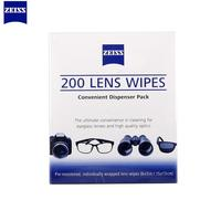 200pcs Zeiss pre moistened Lens Cleaning Wipes Lenses LCD Computer action mini Camera Cleaner screen cleaners SGS verified