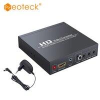 Neoteck scart para hdmi conversor suporta rgb e cvbs sinais de vídeo para hdmi 720 p/1080 p com fonte de alimentação da ue para hdtv stb ps3 ps4|Cabos HDMI| |  -
