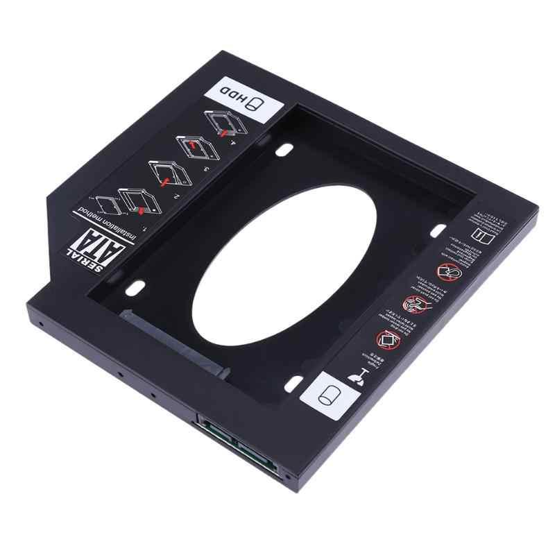 Ultradünne 9,5 Mm Notebook Laptop Pc Cd Fahrer Slot Hdd Ssd Halter Halterung Kunststoff Sata Festplatte Optical Bay mit Screwdr
