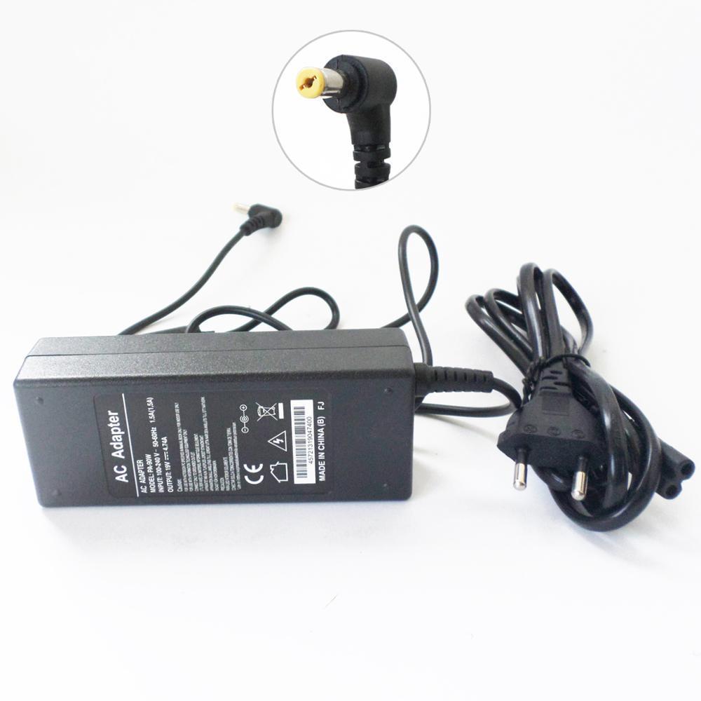 Notebook 19V 4.74A AC Adapter For ACER Extensa 4120 5420G 5620G <font><b>5630G</b></font> 7620G 7630G ADP-90CD DB Battery Charger Power Supply Cord image