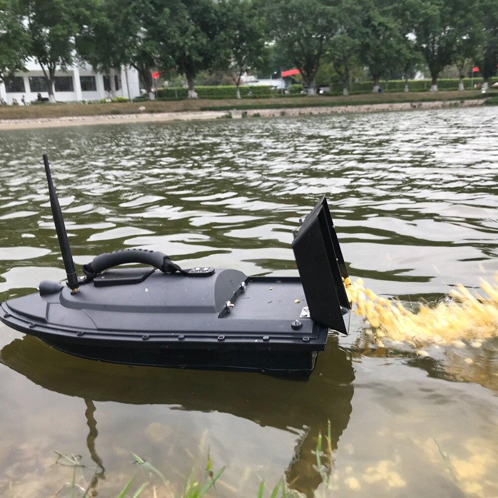 2018 nouveau Flytec 2011-5 poisson trouveur bateau 1.5 kg chargement 500 m RCl pêche appât bateau 2011-15A RC bateau hors-bord RC jouets