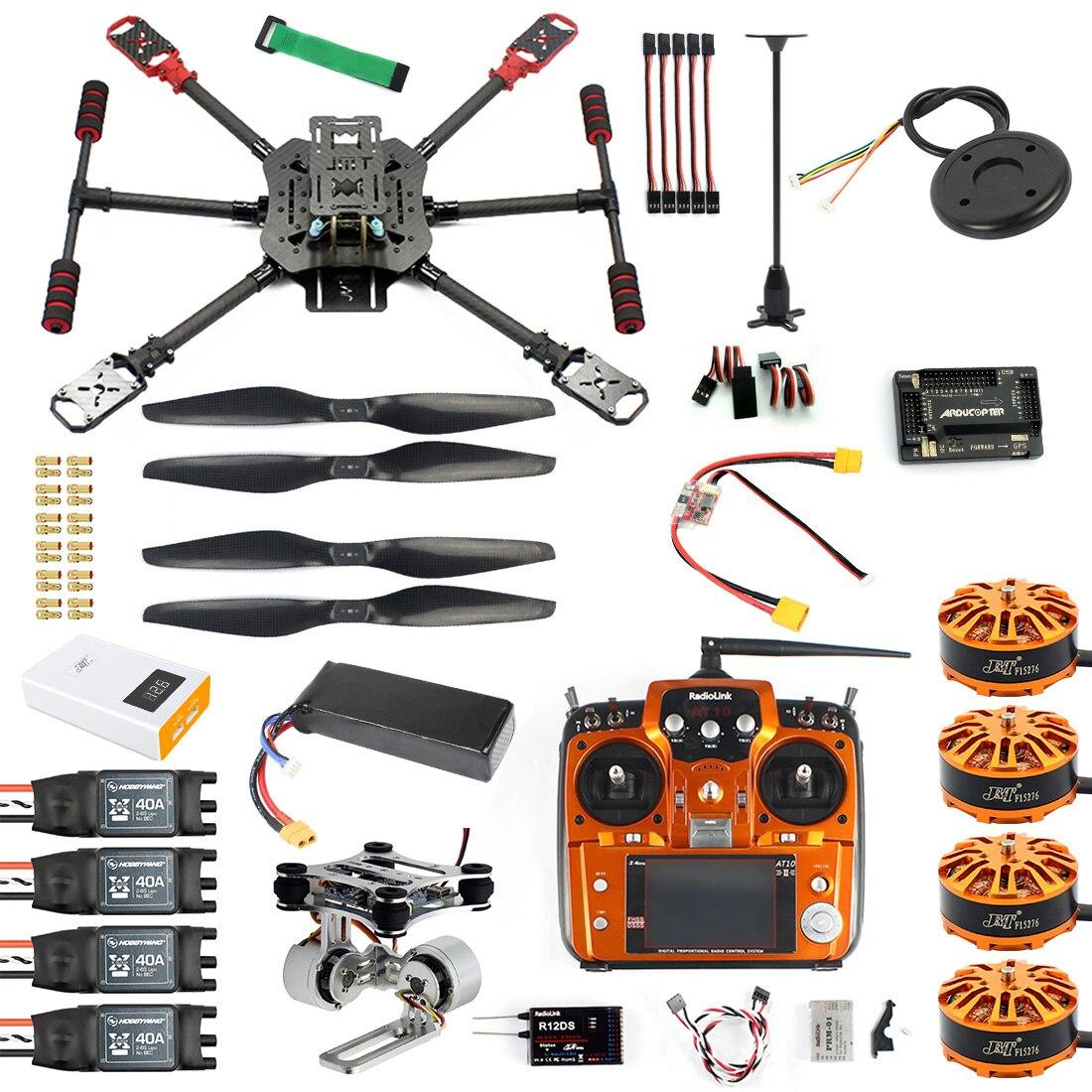 10CH 2.4Ghz X4 460mm 560mm parasol składany zdalnie sterowany quadcopter 4 osi forum regionalnego asean RTF bez możliwości złożenia DIY dron GPS APM PIX w/Gimbal FPV aktualizacji