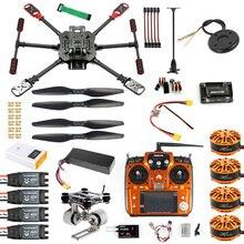 Parapluie plié RC 2.4, à 4 axes, ARF RTF, unassembler le Drone GPS APM PIX avec cardan, mise à niveau FPV, 10CH 460 Ghz X4 560mm quadrirotor mm