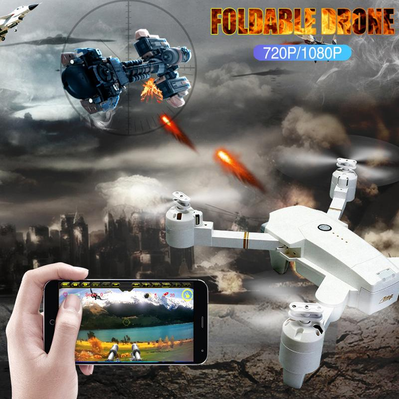 WIFI FPV 5MP Wide Angle Camera High Hold Mode Foldable RC Drone Gravity 3D Mode+Altitude Hold+One Key ReturnWIFI FPV 5MP Wide Angle Camera High Hold Mode Foldable RC Drone Gravity 3D Mode+Altitude Hold+One Key Return