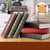 Creative Book Shell Decoration Study Bookcase TV Cabinet Prop Model Fake Book Home Living Room Jewelry Simulation Books Ornament