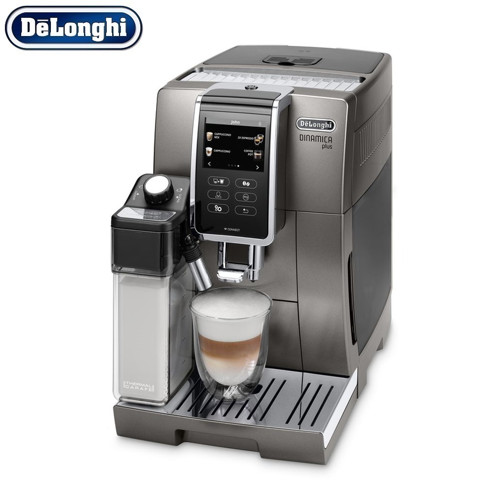 Coffee Machine DeLonghi ECAM 370.95 T kitchen automatic Coffee machines automatic Coffee Maker cappuccino Kapuchinator automat hot sale coffee printer full automatic latte coffee printer with 8 inch tablet pc coffee and food printer inkjet printer selfie