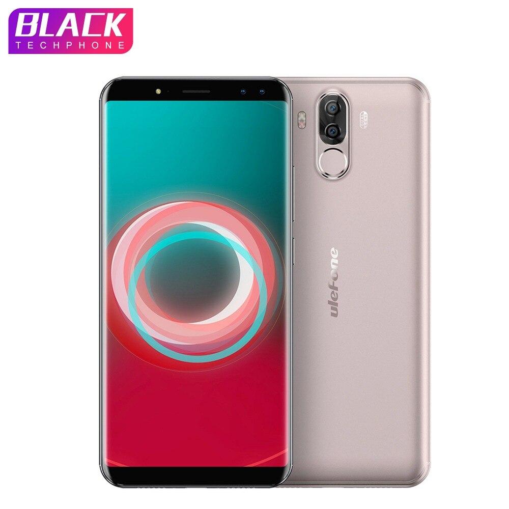 Ulefone мощность 3 S 6,0 18:9 FHD + Android 7,1 мобильный телефон MTK6763 Octa Core 4 Гб 64 16MP камера 6350 мАч уход за кожей лица ID G смартфон