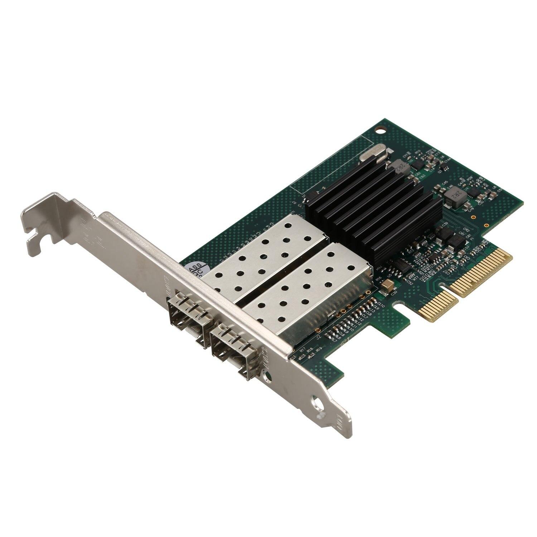 Carte réseau pour Intel 82576 puce 1G Gigabit Ethernet adaptateur réseau convergé (Nic), double Ports Sfp, Pci Express 2.0X4