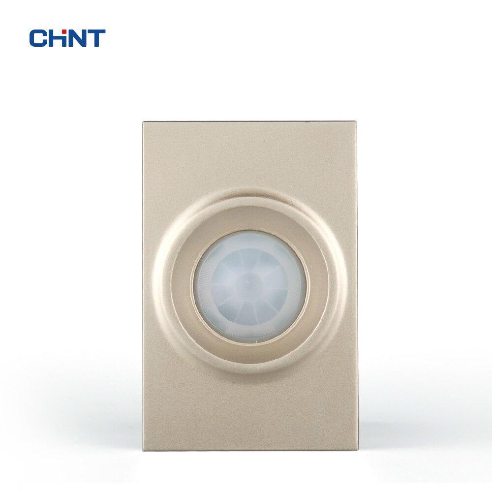 CHINT ajuster la vitesse infrarouge Induction temporisation interrupteur 100 W modulaire 120 Type 9L interrupteur mural prise fonction clé