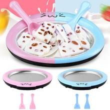 Fried Yogurt Machine Household Mini Ice Maker Children Homemade Fruit Ice Cream Plate Cute Kids Ice Porridge Fried Ice Tray все цены