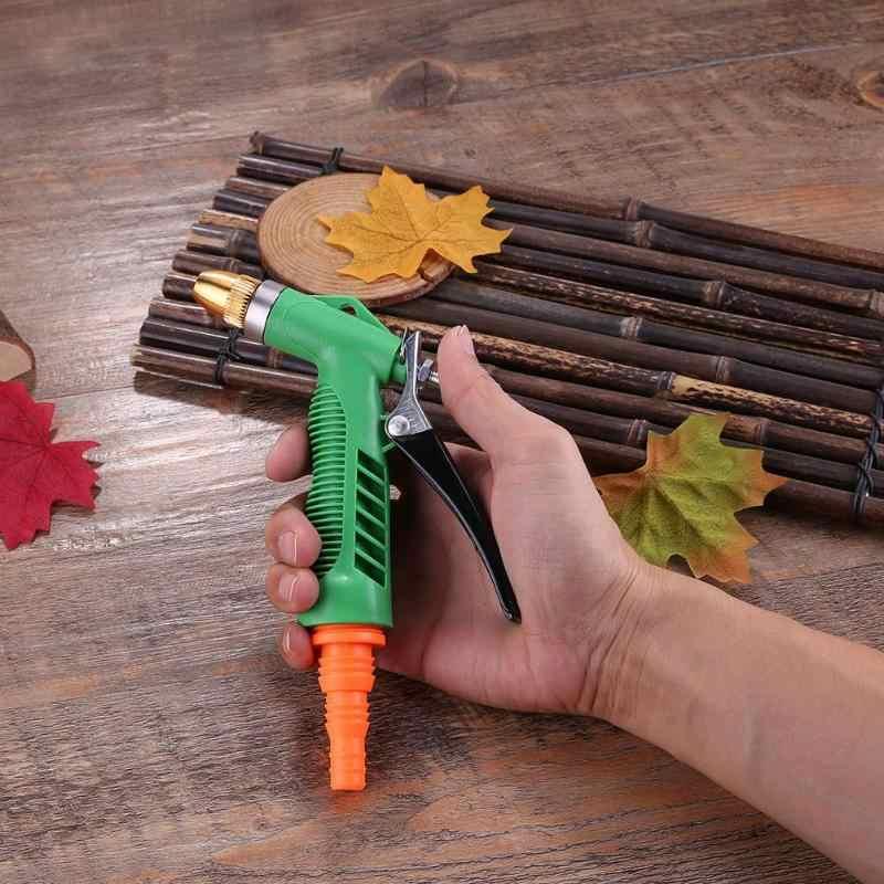 Huishoudelijke Auto Wasstraat Waterpistool 4 Werken Model Koperen Hoofd Wassen Cleaning Machine Automobiles Wasmachine Sparyer Gereedschap New Hot