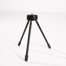 Mini statyw do Insta360 ONE i ONE X 1 4 #8222 -20 złącze śrubowe kompatybilne z Insta360 ONE i ONEX oraz kamera telefon tanie tanio Insta360 ONE and ONE X 150g 20*20*15cm Szkielety i Ramki Black