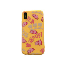 XINDIMAN 2019 phone case for iphoneXR lovely lazy Pig cover iphone7 7plus soft TPU for8 8plus 6s 6plus