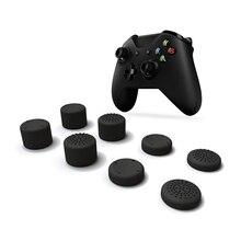 8 قطعة غطاء عصا التحكم التناظرية متحكم الأصابع Xbox One الفطر غطاء رأس غطاء ل Xbox One X تحكم غمبد