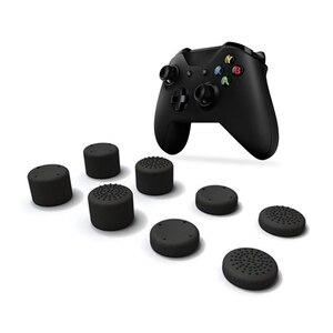 Image 1 - 8 pièces capuchon de manette analogique pouce bâton champignon tête couvercle pour Xbox One X manette de jeu