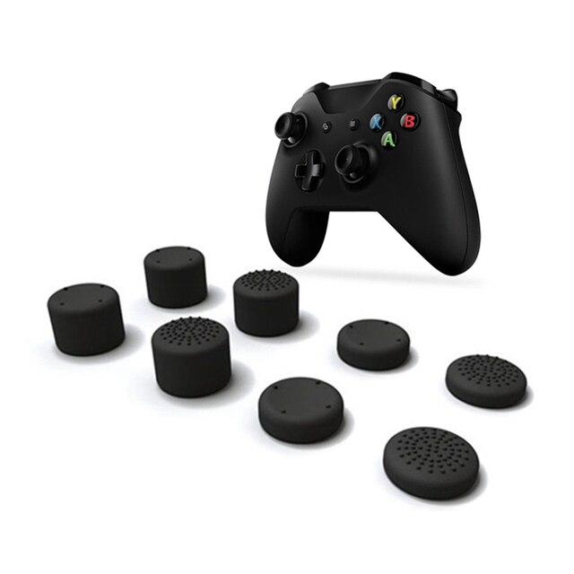 8 pièces capuchon de manette analogique pouce bâton champignon tête couvercle pour Xbox One X manette de jeu