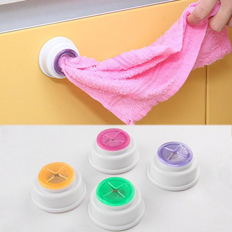 Разные цвета организации хранения Полотенца клип Кухня высокое качество Ванная комната 1 шт Лидер продаж ткань мытья товары для дома крючки...