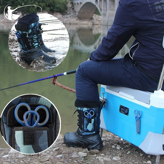 Waterproof Warm Fishing Boots Ice Non-slip Shoe Men Women Gear Aqua Shoes Camping Hiking Snow boots