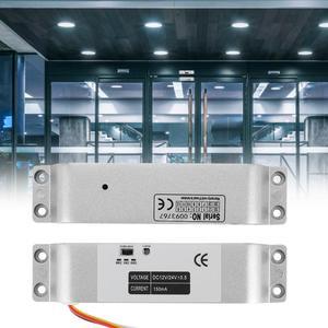 Image 2 - DC12V 1000KG חשמלי זרוק דלת מנעול מגנטי אינדוקציה שער הגישה כניסת בקרת שער נעילת 0s/3s/6s עיכוב פונקציה