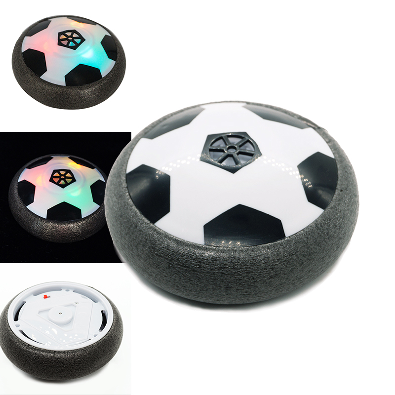 Indoor Outdoor Hover Football Toy Air Power Football Boy Girl Sport Toys Training Gift Colorful LED Light Flashing Football