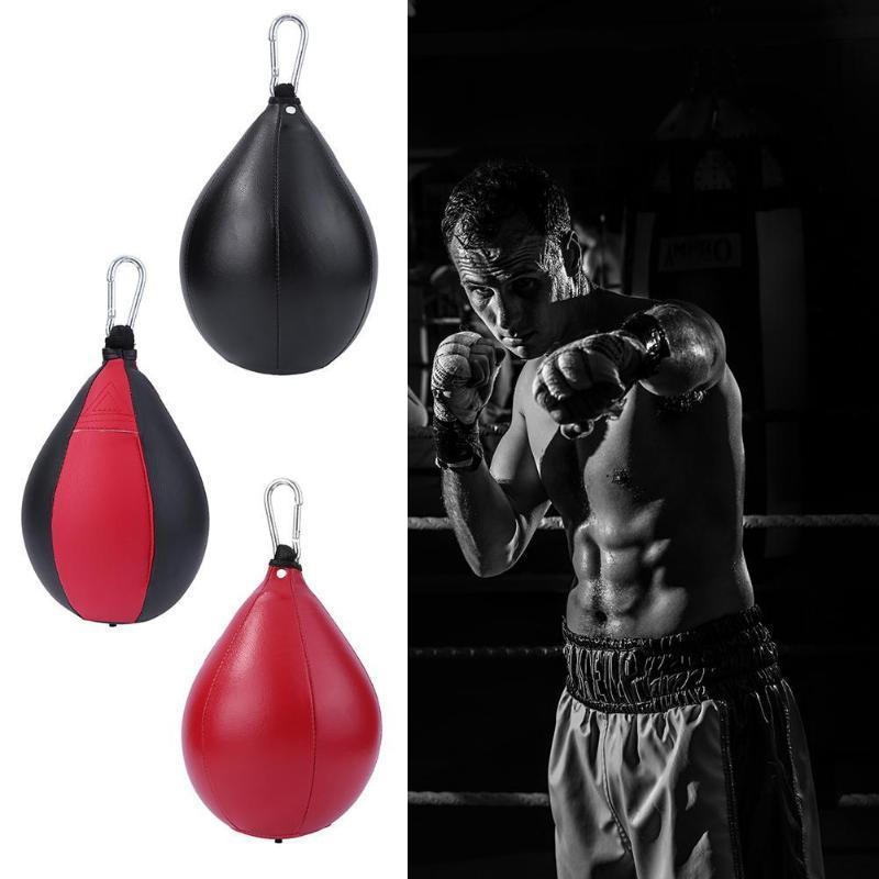 Boxing Pear Speed Ball Punching Swivel Exercise Hanging Speedball Training Bag