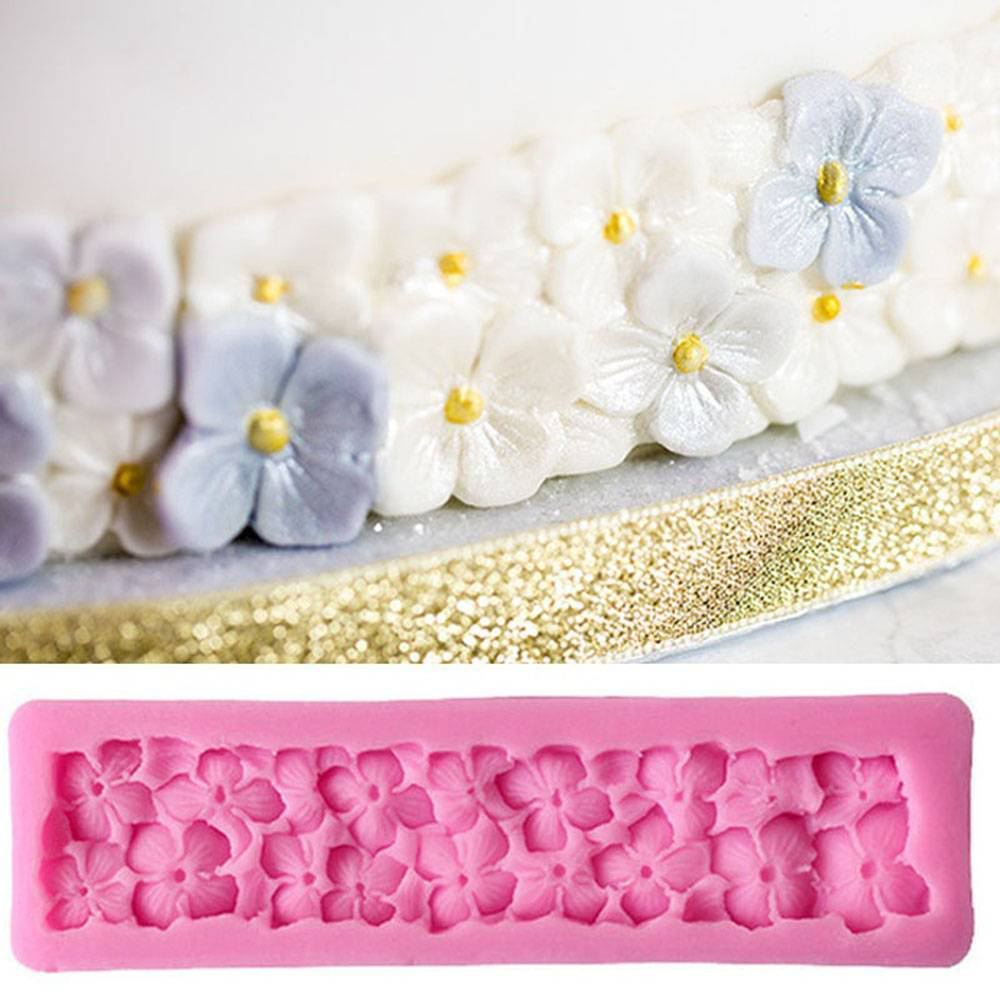 New 3D Four Leaf Clover Silicone Mold Fondant Craft Chocolate Bread Baking Mold Cake Decorating Tools Kitchen Pastry Tool 2019