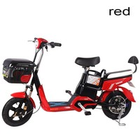 Standard Electric Vehicle Adult Electric Power Bicycle Step By Step Electric Bicycle Two Round A Storage Battery Car Safety