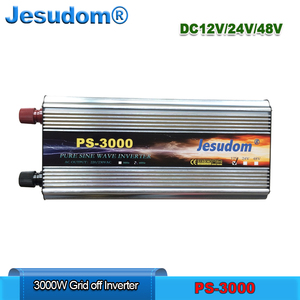 3000W High Frequency Inverter with Pure Sine Wave Output Combine LCD Display +LED DC12/24/48V To AC 220V/230V/240V 50/60HZ