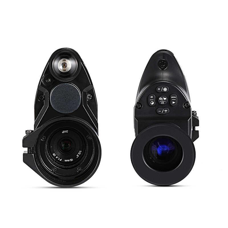 PARD NV007 цифровая охотничья камера ночного видения 5 Вт DIY/IR/инфракрасный прицел ночного видения 200 м дальность ночного видения оптическая винтовка