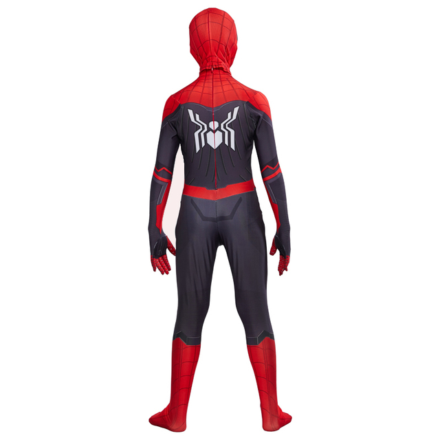 Spider Boy Far From Home Peter Parker Cosplay Costume for kids 4