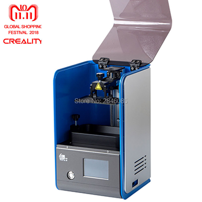 CREALITY 3D LCD 3D Printer LD001 Smart Touch Screen Off-line Print Impresora as Resin for gift for Jewelry,Dental,Design цена