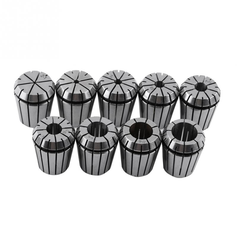 Hot 9pcs 2 20mm ER32 Spring Collet Set CNC Engraving Machine ER32 Collet Milling Lathe Machine