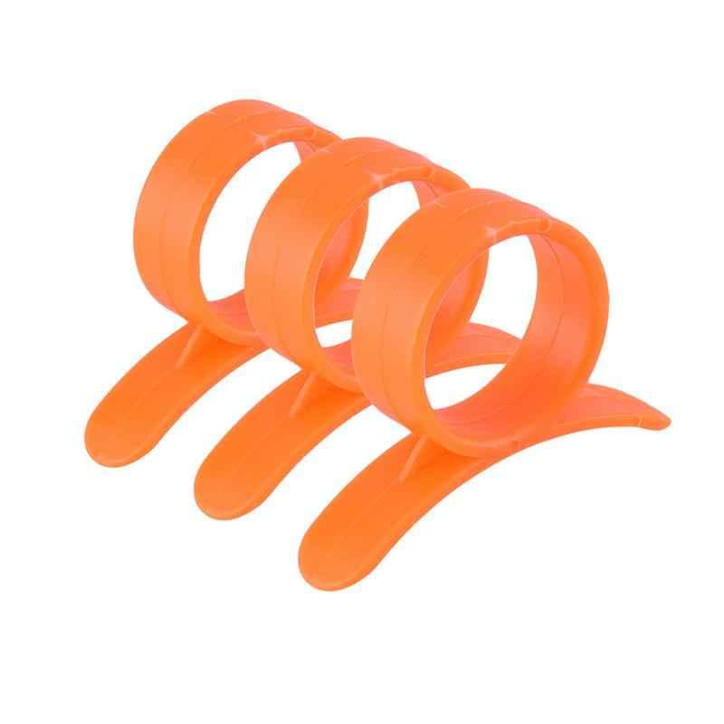 1/10Pcs Kreatif Oranye Pengupas Lemon Alat Pemotong Buah Stripper Mudah Pembuka Jeruk Pisau Dapur Gadget