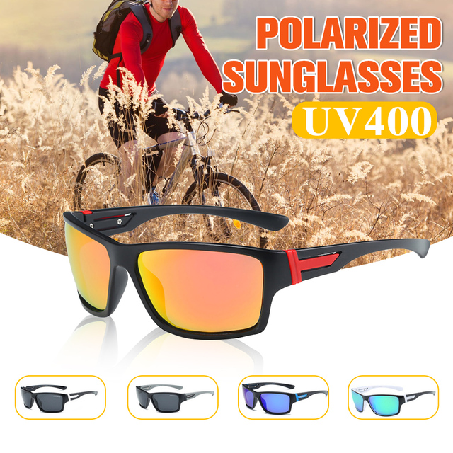 056880db7662 DUBERY Photochromic Polarized Sun Glasses Bike Riding Protection Goggles  Vintage Mens Driving Outdoor Sports Shades Sunglasses