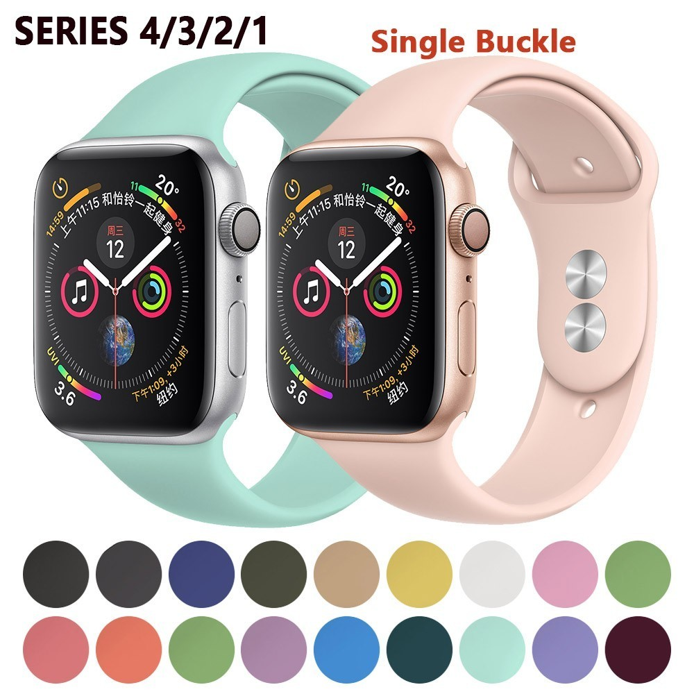 FOHUAS Smart Strap For Apple Watch Band 4 3 Band 42mm 38mm
