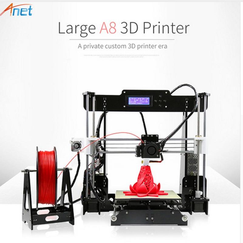 Anet A8 3d Printer High Precision Affordable Chinese 3d Printer Reprap Prusa i3 DIY 3d Printer