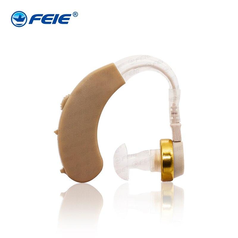Niedrigen Preis auf Aliexpress zu verkaufen S-138 Anhörung Aide in Russische audio power verstärker FEIE Taubheit Ear Instrument BTE HEARING hilfe
