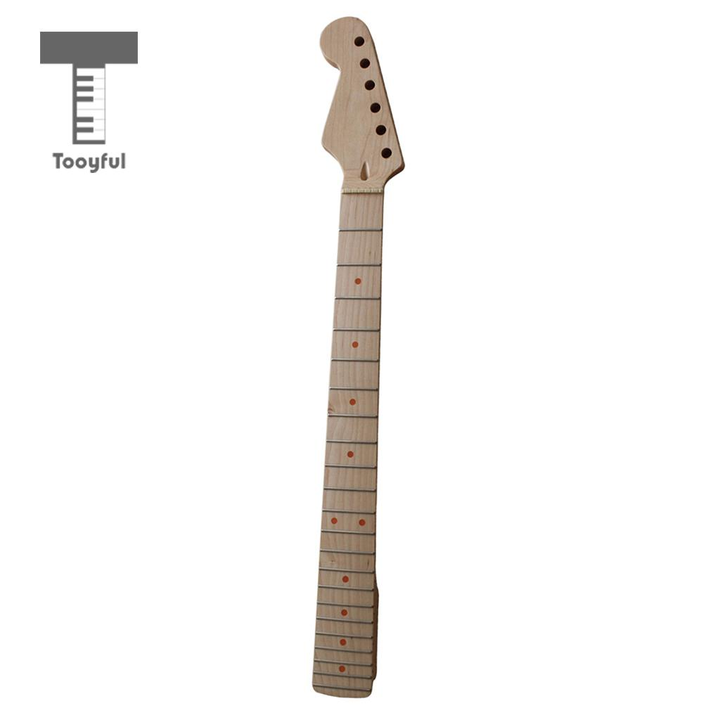Exquisite Maple Wood 22 Fret Electric Guitar Fingerboard Fretboard Luthier Tool Musical Instrument Parts Stringed Instruments