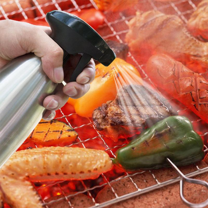 D'olive En Acier inoxydable Pompe Vaporisateur Pulvérisateur D'huile Graisseur Pot Barbecue Barbecue Cuisson Outil Peut Pot Ustensiles de Cuisine Cuisine Outil