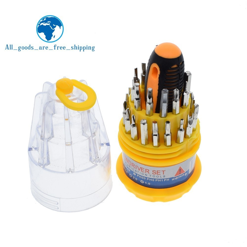 High quality carbon steel pagoda multi-function 31-in-1 batch of manual screwdriver combination tool Screwdriver tool set sale