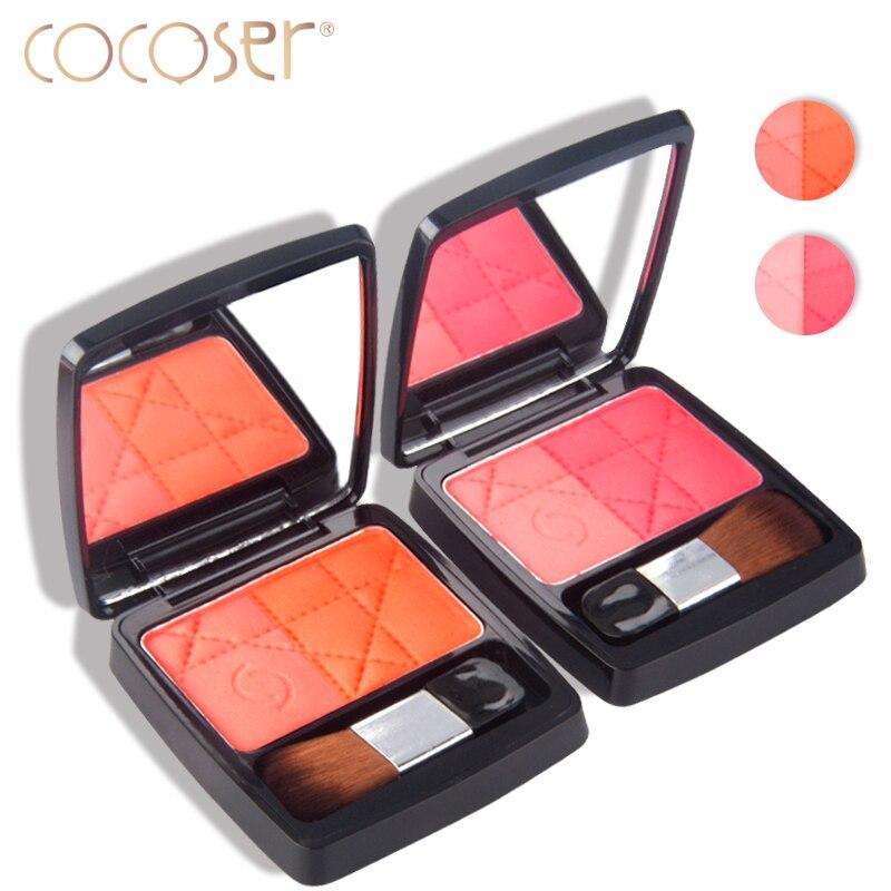 Cocoser palette blush Baked Cheek Blush bronzer make up Sweet Cheek Blush Palette Professional Makeup Product