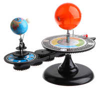 Sun Earth Moon Orbital Model + Solar System Planetarium Model Science DIY Project Birthday Gift for Kids Children Student
