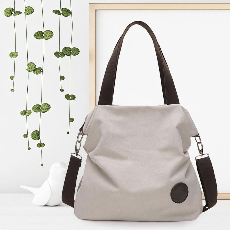 ae19428828f8 Винтаж Большой ёмкость сумка мужская тотализаторов для женщин Повседневное  плеча сумки Canavs сумки через плечо сумки