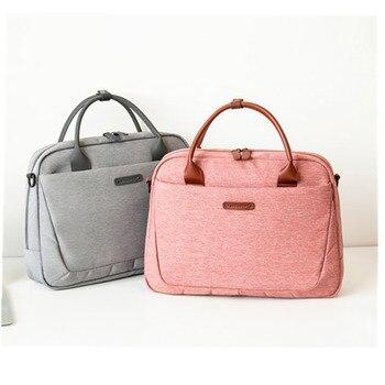 cafa413d9360 2019 Новый женский портфель Офисные сумки для ноутбука для женщин  компьютерная работа через плечо деловые сумки мужские дорожные сумки