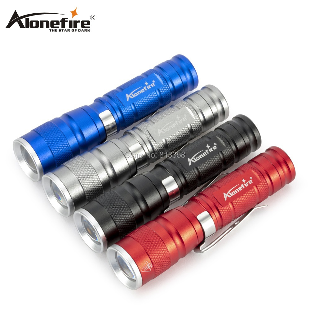 AloneFire X600 Waterproof Torch LED Flashlight High Power Mini Lamp Portable Mini Zoomable Camping Equipment Torch Lamp