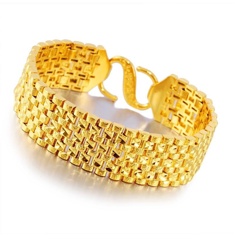 Thailand Vietnam Sand Gold Bracelets