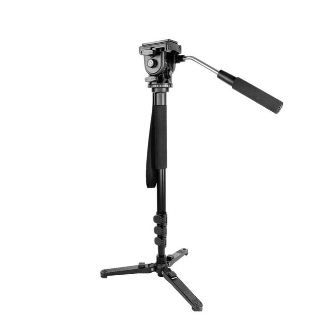Kingjoy Mp1008F Set Professional Monopod Set Dslr For All Models Camera Tripod Stand Para Movil Flexible Tripe Stativ Slr Dslr