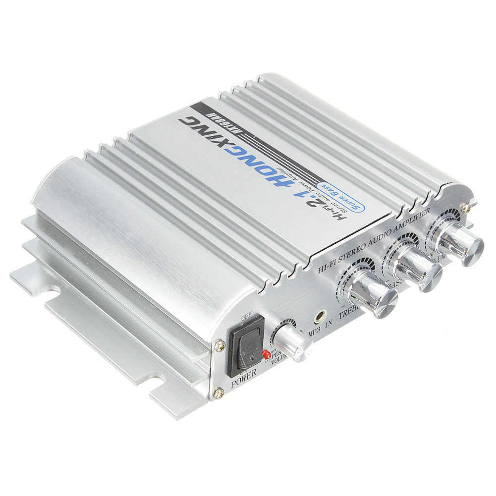 Hongxing 168Ah Car Amplifier Sound Mode Radio Mp3 Speaker